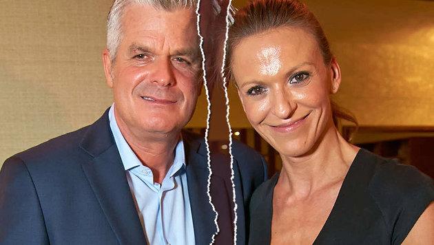 Wolfram Pirchner mit seine Ex-Frau Katharina (Bild: Starpix/Alexander Tuma)