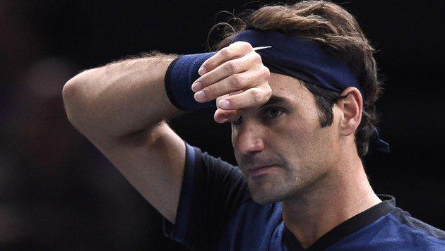 Roger Federer sagt für French Open ab! (Bild: APA/AFP/MIGUEL MEDINA)