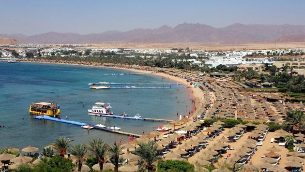 Der beliebte Na'ama Beach in Sharm el-Sheikh (Bild: APA/EPA/KHALED EL-FIQI)
