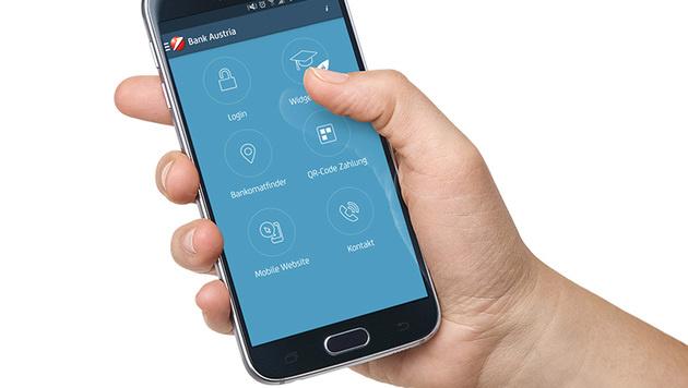 Bank Austria macht Smartphone zur Bankomatkarte (Bild: bankaustria.at)