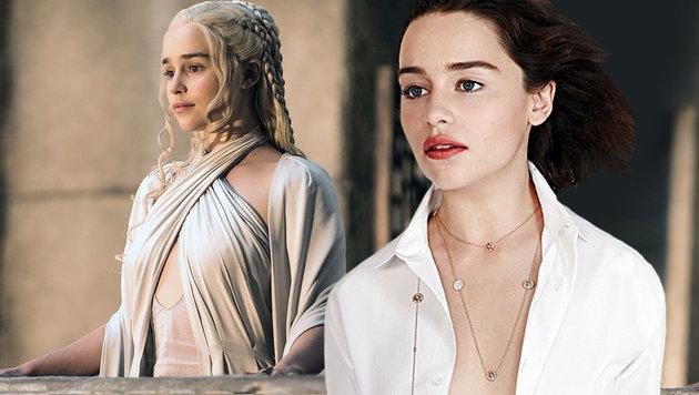 Emilia Clarke: Sexy für Dior (Bild: Viennareport, AP)