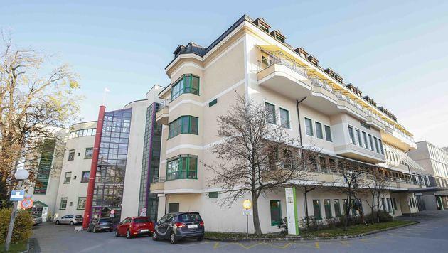Das Kinderspital in Salzburg wird die Sicherheitsvorkehrungen noch einmal verstärken. (Bild: MARKUS TSCHEPP)