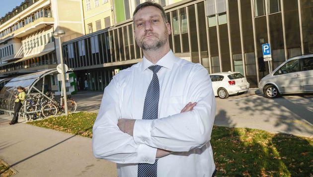 ÖWD-Sicherheitschef Bernhard Pickl (Bild: MARKUS TSCHEPP)