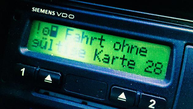 """""""Fahrt ohne g�ltige Karte"""" (Bild: """"Krone"""")"""