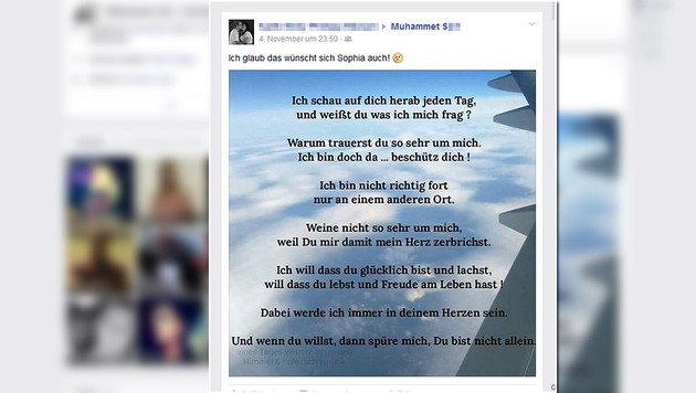 Auch auf Facebook spenden sich Freunde des Geschwisterpaares Trost. (Bild: facebook.com)