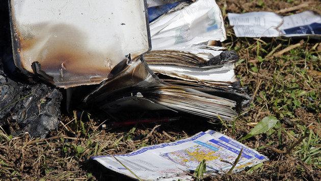 Kleinflugzeug in Kärnten abgestürzt - Cousins tot (Bild: APA/GERT EGGENBERGER)