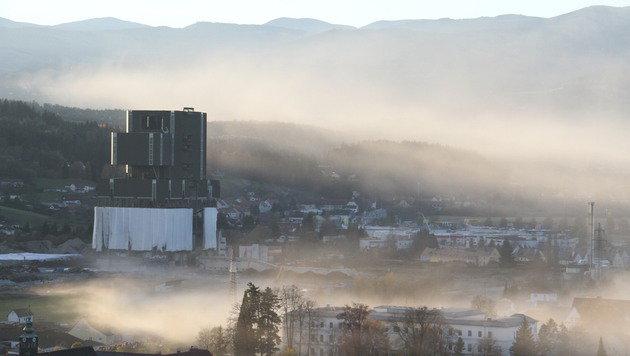 Drohneneinsatz nach Sprengpanne in Voitsberg (Bild: Christian Jauschowetz)