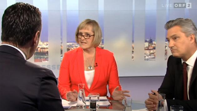 """Strache: """"Strafanzeige gegen Bundesregierung"""" (Bild: tvthek.orf.at)"""