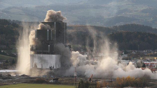 Voitsberger Kraftwerk wehrt sich gegen Sprengung (Bild: Christian Jauschowetz)