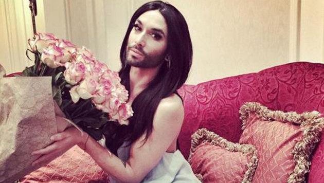 """Conchita als Covermodel in New York (Bild: Instagram/Conchita Wurst)"""