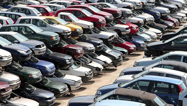 190.000 Schrottfahrzeuge pro Jahr illegal entsorgt (Bild: thinkstockphotos.de)