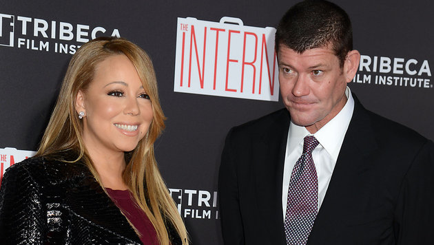 Mariah Carey und James Packer (Bild: Viennareport)