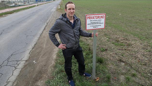 """Gerald B. war im Vorjahr einer der betroffenen Falschparker beim Motorikpark und zahlte """"nur"""" € 180 (Bild: Gerhard Bartel)"""