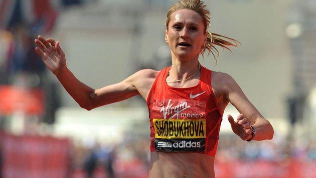 Lilija Schobukowa (Bild: APA/AFP/BEN STANSALL)