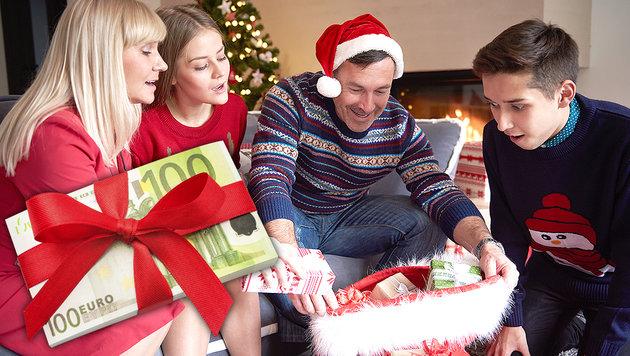 geld als weihnachtsgeschenk f r kinder tipps. Black Bedroom Furniture Sets. Home Design Ideas
