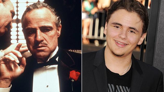 """Ist der """"Pate"""" Marlon Brando der Vater von Prince Michael Jackson? (Bild: Viennareport)"""