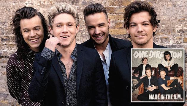"""One Direction: """"Die Pause ist jetzt notwendig!"""" (Bild: Sony Music)"""