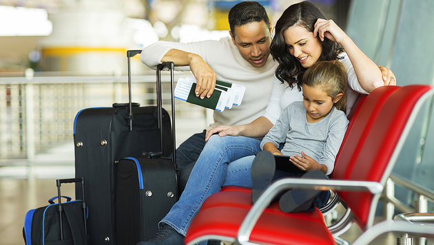 Verreisen mit Kindern – was Sie beachten sollten (Bild: thinkstockphotos.de)