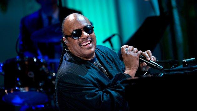 Stevie Wonder ist Vater von neun Kindern. (Bild: AFP)