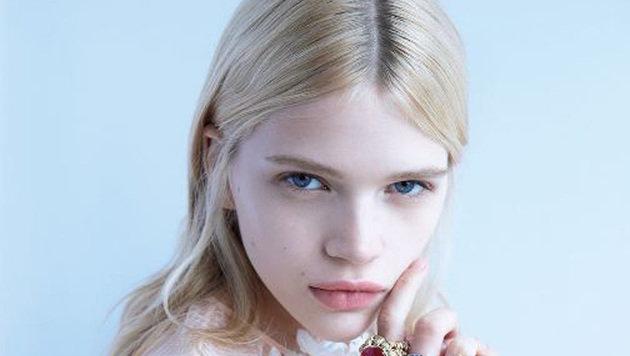 """""""Die schönsten Newcomer-Models der Stadt (Bild: @Camilla Akrans/Vogue China)"""""""