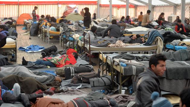 Bis zu 95.000 Asylanträge bis Jahresende erwartet (Bild: APA/BARBARA GINDL)