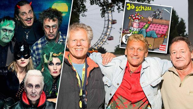 Jö schau - Austropop in seiner morbiden Form (Bild: Lukas Beck, Sony Music)
