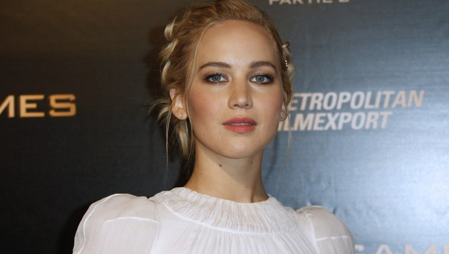 Jennifer Lawrence (Bild: APA/AFP/THOMAS SAMSON)
