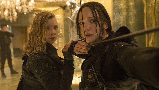 "Jennifer Lawrence in ""Die Tribute von Panem"" (Bild: Studiocanal)"