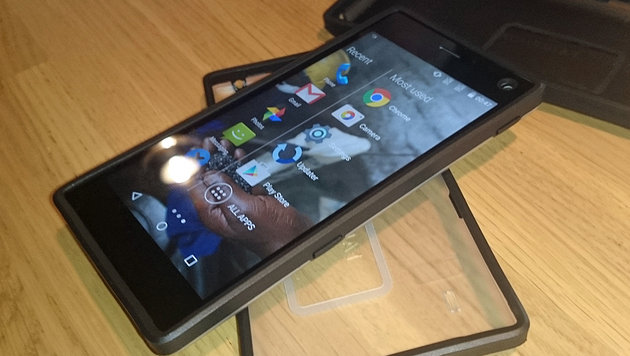 Android 5.1 haben die Fairphone-Macher optisch leicht überarbeitet. (Bild: Dominik Erlinger)