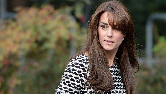 Herzogin Kate: Ihre beiden Kinder George und Charlotte halten Kate ziemlich auf Trab. (Bild: Viennareport)