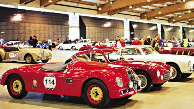 Das Automobilmuseum präsentiert italienische Klassiker. (Bild: Bresciatourismus)