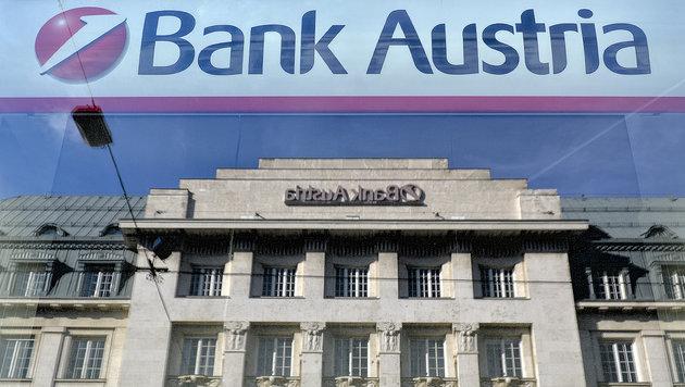 Drastischer Sparkurs bei Bank Austria besiegelt (Bild: APA/HERBERT NEUBAUER)