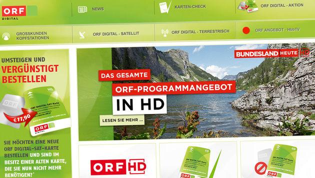 ORF wehrt sich gegen Vorwurf von HD Austria (Bild: digital.orf.at)