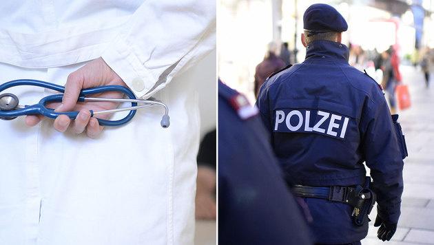 Österreicher vertrauen Ärzten, Polizei und Justiz (Bild: APA/HELMUT FOHRINGER)