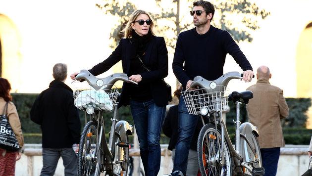 Gemeinsamer Fahrrad-Ausflug (Bild: Viennareport)