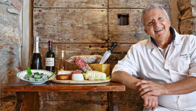 Patrone Porterie betreibt ein Feinkostgeschäft und ein uriges Restaurant. (Bild: Bresciatourismus)