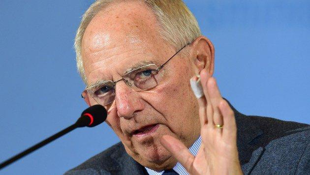 Deutschlands Finanzminister Wolfgang Schäuble (Bild: APA/AFP/John MacDougall)