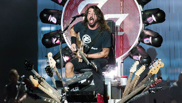 Foo Fighters beweisen in humorigem Video Teamgeist (Bild: Andreas Graf)