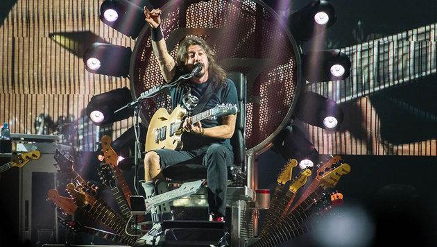 Foo Fighters in Wien: Einer sitzt, alle tanzen (Bild: Andreas Graf)