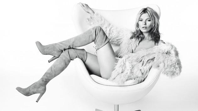 Kate Moss tröstet sich über das Ehe-Aus mit Nikolai von Bismarck hinweg. (Bild: Viennareport)
