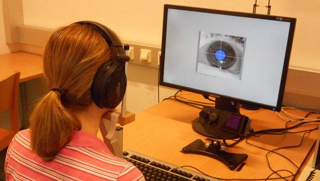 Reaktionen auf Musik lassen sich an Augen ablesen (Bild: Universität Wien/Bruno Gringras)