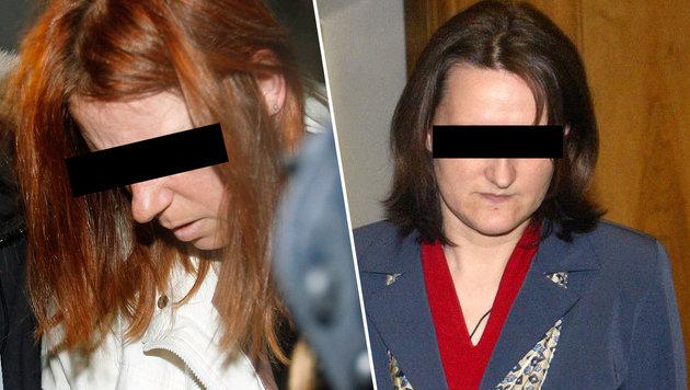 Zwei der insgesamt sieben Mitinsassinnen, die sich vor Estibaliz C. fürchten sollen (Bild: Chris Koller, JÜRGEN RADSPIELER)