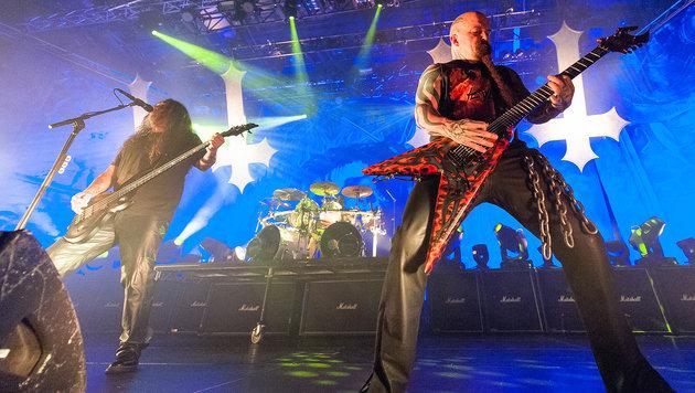 Slayer, Ghost und Co. verstärken Rock in Vienna (Bild: Andreas Graf)