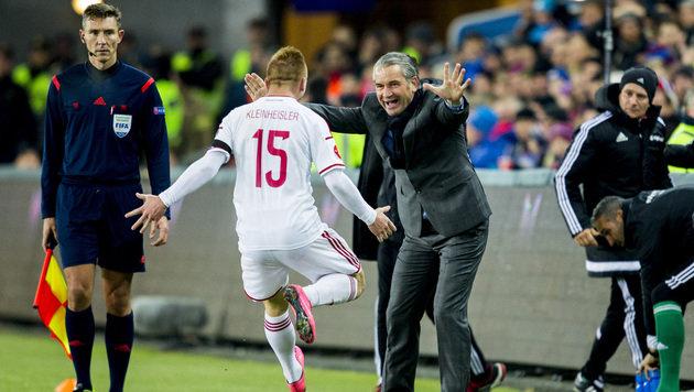 Ungarn gewinnt Play-off-Hinspiel in Norwegen (Bild: AP)