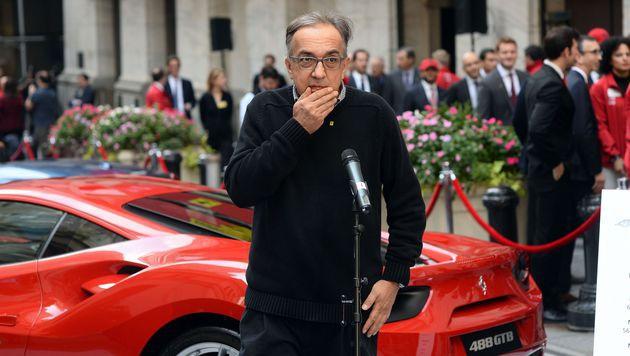 Fiat-Chef Sergio Marchionnen (Bild: AFP)