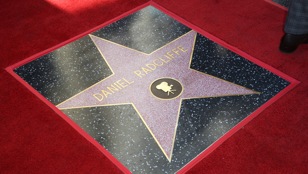 "Daniel Radcliffes Stern am ""Walk of Fame"" (Bild: Rich Fury/Invision/AP)"
