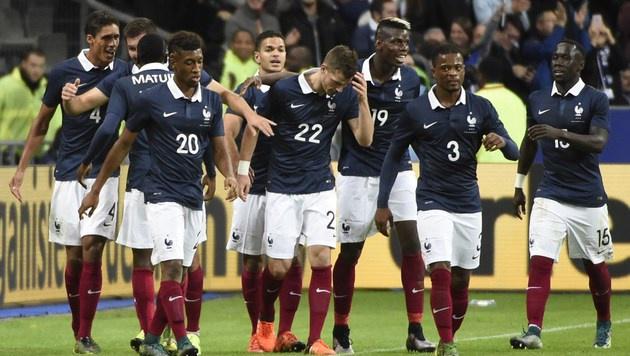 Frankreich besiegt Deutschland mit 2:0 (Bild: APA/AFP/MIGUEL MEDINA)