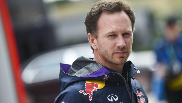 """Red-Bull-Chef Horner: """"Bleiben in der Formel 1!"""" (Bild: APA/EPA/JANOS MARJAI)"""