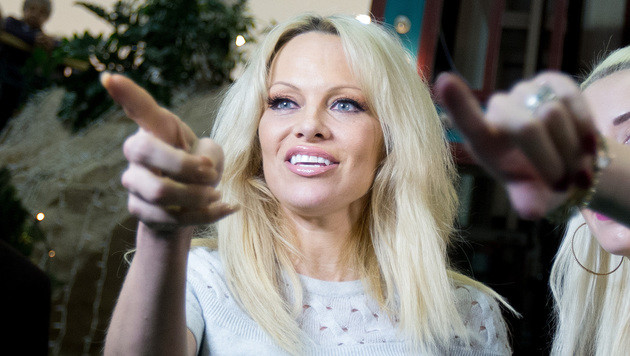 Schauspielerin Pamela Anderson (Bild: APA/GEORG HOCHMUTH)