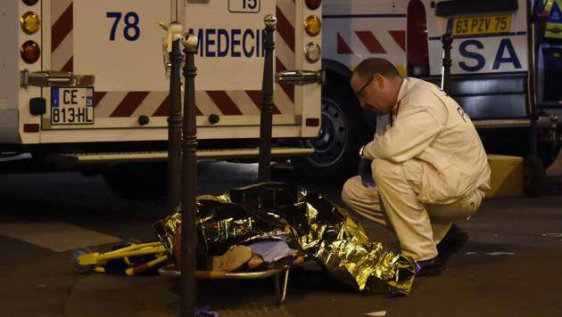 Terror-Wahnsinn in Paris: Europa im Schockzustand! (Bild: AFP)